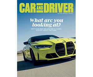 Free Car And Driver Magazine 2-Year Subscription