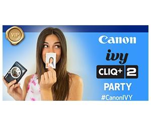 Free Canon IVY CLIQ+2 Instant Camera Printer