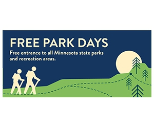 Free entrance days to all Minnesota state parks