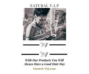 Free Natural Hair Product Samples from Natural V.I.P®