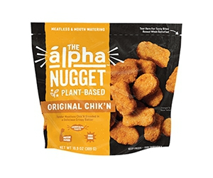 Free pack of Original Chik'n Nuggets from Alpha Foods