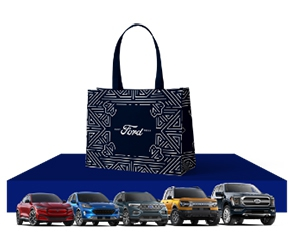 Free 2021 Ford Essence Festival Tote + Win Ford Vehicle