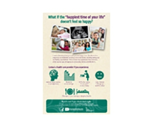 Free Moms' Mental Health Matters Poster