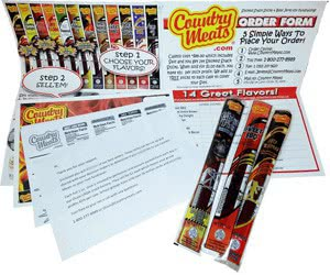 Free Country Meats Smoked Snacks Sample For Fundraising