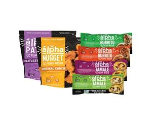 Free Alpha Foods Plant-Based Freezer Staples