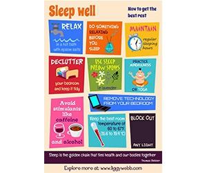 Free Copy of Sleep Poster