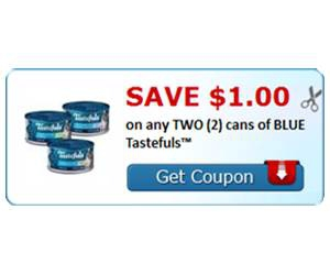Save $1.00 on any TWO (2) cans of BLUE Tastefuls™