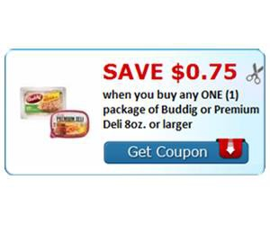 Save $0.75 when you buy any ONE (1) package of Buddig or Premium Deli 8oz. or larger