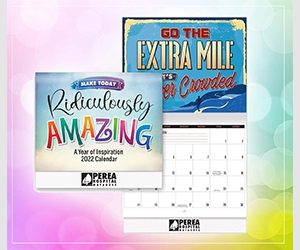 Free Positive Promotions 2022 Wall Calendar