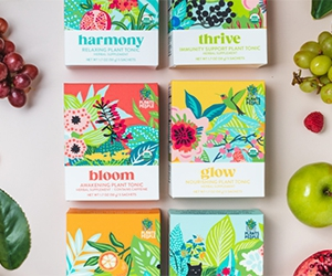 Free Plant-Powered Tonic Sample Pack From Plants By People
