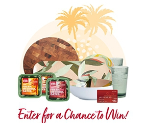 Win A $50 Visa Gift Card, Natural Delights Products, And Outdoor Entertainment Prize Pack