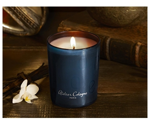 Free Aroma Candles From Atelier