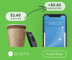Acorns helps you save & invest