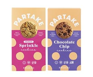 Free Partake Gluten-Free Vegan Cookies