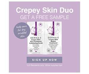 Free Crepey Skin Exfoliating Scrub And Treatment Samples From Derma E