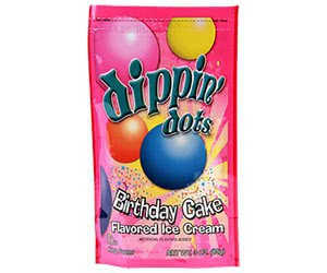 Free Dippin' Dots On Your Birthday