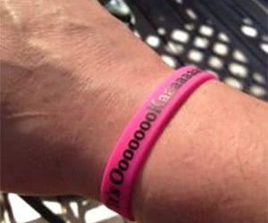 Free Kira Michele Wristband