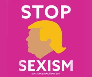 "Free ""Stop Sexism"" Sticker"