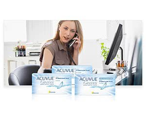 Free ACUVUE Brand Contact Lenses
