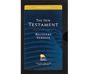 Free Study Bible Recovery Version