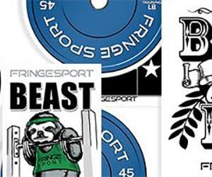 Free Fringe Sport Stickers