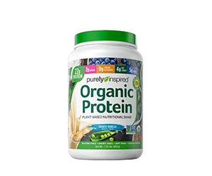 Free Purely Inspired Vanilla Flavored Organic Protein