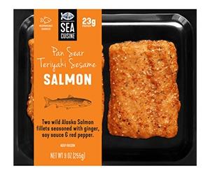 Free Teriyaki Sesame Salmon From Sea Cuisine