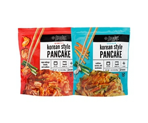 Free Korean Pancakes from Lucky Foods
