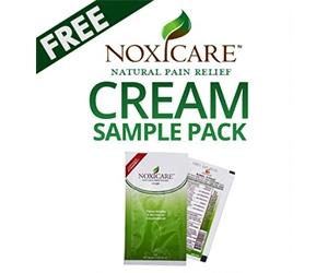 Free Noxicare Cream Sample Pack