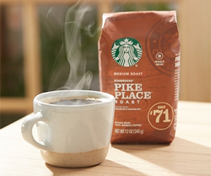 Free Starbucks Reserve Coffee or Cold Brew